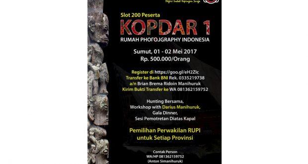 KOPDAR 1 RUMAH PHOTOGRAPHY INDONESIA DI SAMOSIR – DANAU TOBAKOPDAR 1 RUMAH PHOTOGRAPHY INDONESIA DI SAMOSIR – DANAU TOBA (DL : 25 April 2017)